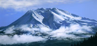 Janet Rayner Mt Shasta pastel painting links to larger image